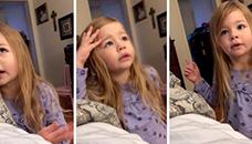 3-годишно девојче му одржа лекција на таткото