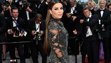 Ева Лонгорија со фустан од кого се добива  wow  ефект