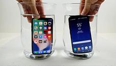 Тест со замрзнување: iPhone X против Samsung Galaxy S8