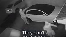 Добро извежбани професионалци крадат модерна кола