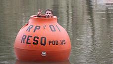 Портокалова топка за преживување на природна катастрофа