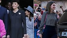 Кејт Мидлтон и Кралицата Летисија  Која има подобра велигденска комбинација