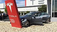 Пак сообраќајна несреќа со Tesla Model S