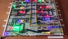 Паоло Констанино сам направи 8 битен процесор